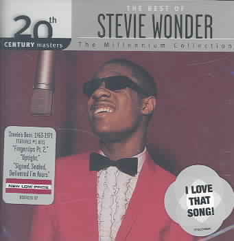 20TH CENTURY MASTERS:MILLENNIUM COLLE BY WONDER,STEVIE (CD)